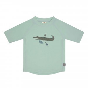 Lässig Splash & Fun UV T-Shirt Korte Mouwen Crocodile Mint