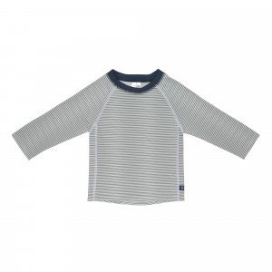 Lässig Splash & Fun UV T-Shirt Lange Mouwen - Striped Blue