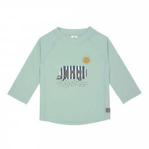 Lässig Splash & Fun UV T-Shirt Lange Mouwen Caravan Mint