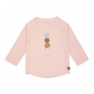 Lässig Splash & Fun UV T-Shirt Lange Mouwen Icecream Rose