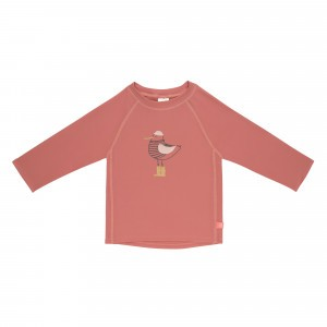 Lässig Splash & Fun UV T-Shirt Lange Mouwen - Mrs. Seagull Coral