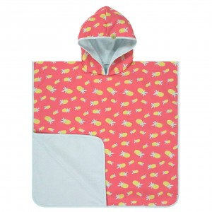 Lässig Splash & Fun UV Beach Poncho Pineapple
