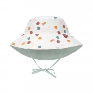 Lässig Splash & Fun Sun Protection Zonnehoedje Spotted White