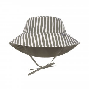 Lässig Splash & Fun Sun Protection Zonnehoedje Stripes Olive