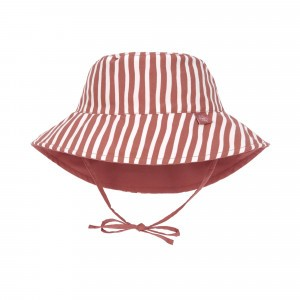 Lässig Splash & Fun Sun Protection Zonnehoedje Stripes Red