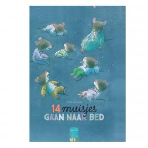 Clavis Prentenboek 14 muisjes gaan naar bed