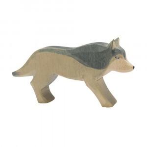 Ostheimer Sprookjes dieren Wolf lopend (6cm)