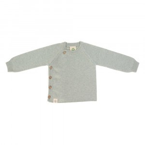 Lässig Gebreide Kimono Sweater Garden Explorer Aqua Grey