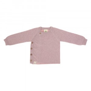 Lässig Gebreide Kimono Sweater Garden Explorer Light Pink