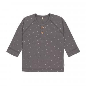 Lässig T-shirt Lange Mouwen Spots Anthracite