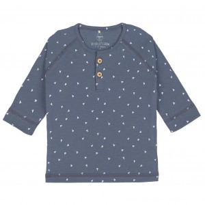 Lässig Shirt Triangle Blauw