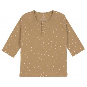Lässig Shirt Dots Curry
