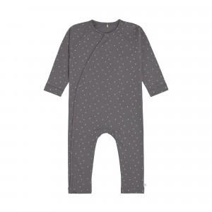Lässig Pyjama Spots Anthracite