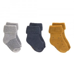 Lässig Newborn Sokjes Assorted Blue (3-pack)