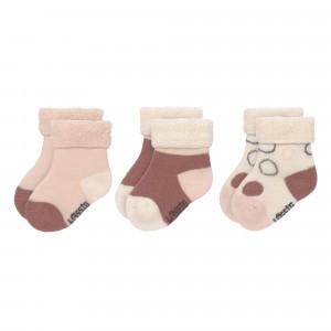 Lässig Newborn Sokjes Assorted Offwhite/Powder Pink/Rust (3-pack)