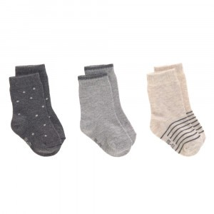 Lässig Kinder Sokjes Assorted Grey (3-pack)