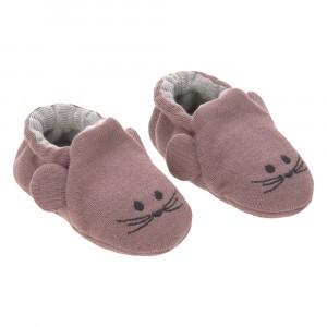 Lässig Baby Slofjes Little Chums 'Mouse'