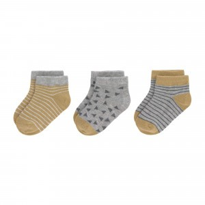 Lässig Sneaker Sokjes (3-pack) Curry