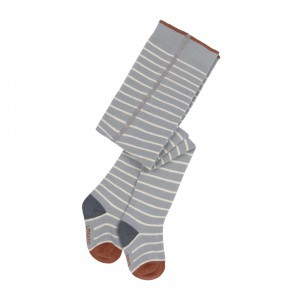 Lässig Kousenbroek Tiny Farmer Striped Orange/Grey/White