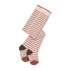 Lässig Kousenbroek Tiny Farmer Striped Orange/Beige