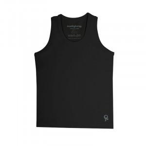 Mambotango T-shirt zonder mouwen Zwart