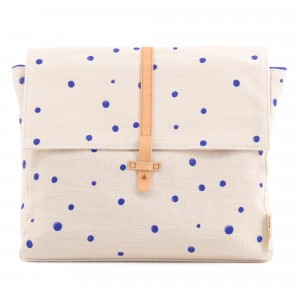 Monk & anna Kodomo Rugzak Dots Ink Blue