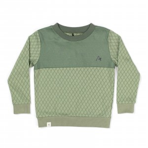 Albababy Howy Sweat Hedge Green Harlequin
