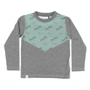 Albababy Harray Sweat Castlerock Melange