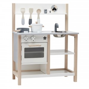 Kid's Concept Keuken Natural/Wit