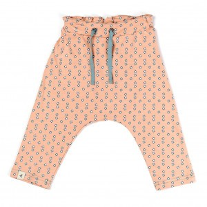 Albababy Ida Baby Pants Dusty Rose Small Flowers