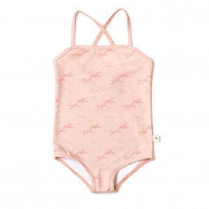 Albababy Grazia Swimsuit Dusty Rose Bird