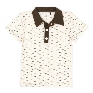 Albababy Carter Shirt Antique White Triangle