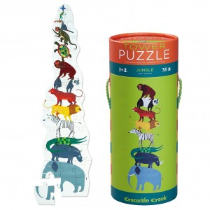 Crocodile Creek torenpuzzel jungle (36 stukken)