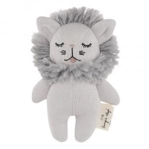 Konges Slojd Rammelaar/Knuffel Leeuw