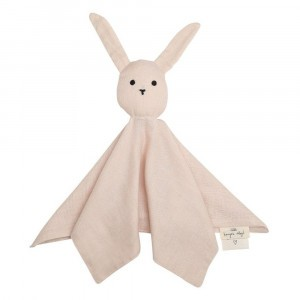 Konges Slojd Knuffeldoekje Sleepy Rabbit Light Rose