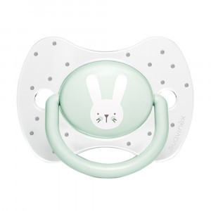 Suavinex Fopspeen Hygge Fysiologisch Silicone +18 maand Green Rabbits