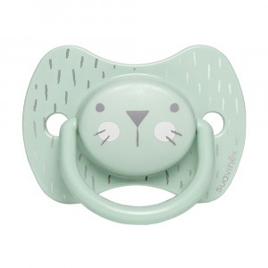 Suavinex Fopspeen Hygge Fysiologisch Silicone +18 maand Green Whiskers