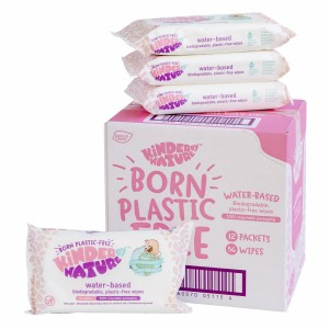 Jackson Reece Water-based Babydoekjes Voordeelpakket 18 pakjes (1008 doekjes)