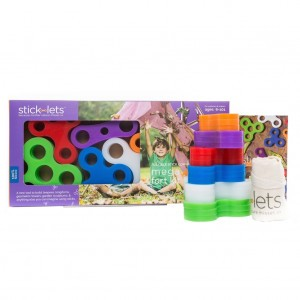 Stick-lets Mega Dodeka Fort Kit 18 Stuks