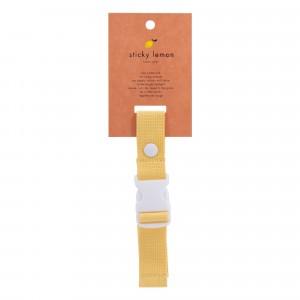 Sticky Lemon Borstgordel Wanderer Retro Yellow
