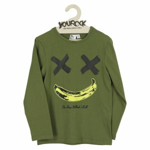 Six Hugs & Rock 'n Roll Happy Banana Khaki