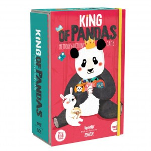 Londji Memo Spel 'King of Pandas'