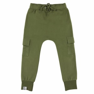 Six Hugs & Rock 'n Roll Sweatpants Khaki Pockets
