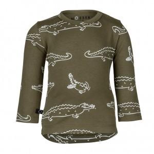 nOeser Henny Shirt Croco Woody Green (maat 92-104)