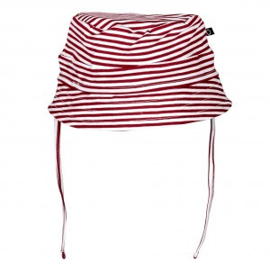 nOeser Bucket Hat Stripe Totem Red