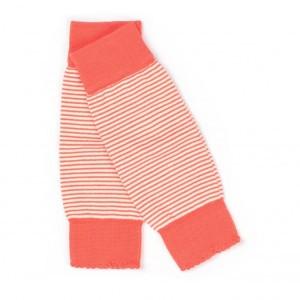 Albababy Lea Legwarmers Orange Striped