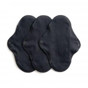 Imse Vimse Wasbaar Inlegkruisje Active (3-pack) Zwart