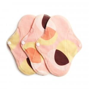 Imse Vimse Wasbaar Inlegkruisje Active (3-pack) Pink Hoop