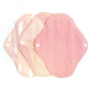 Imse Vimse Wasbaar Inlegkruisje (3-pack) Pink Sprinkle