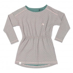 Albababy Isla Dress Silver Pine Flower